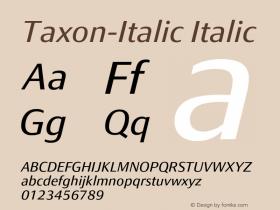 Taxon-Italic