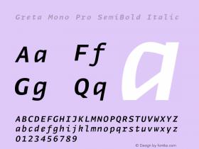 Greta Mono Pro