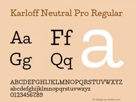 Karloff Neutral Pro