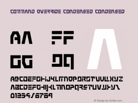 Command Override Condensed