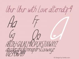 Ubur Ubur with Love