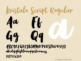 Kristale Script