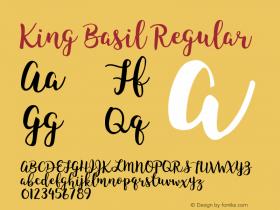 King Basil