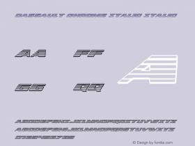 Dassault Chrome Italic