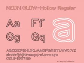 NEON GLOW-Hollow