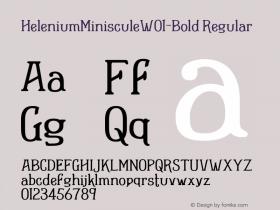 HeleniumMinisculeW01-Bold