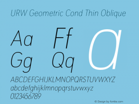 URW Geometric Cond