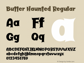 Butter Haunted