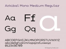 Arkibal Mono Medium