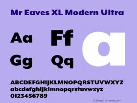 Mr Eaves XL Modern
