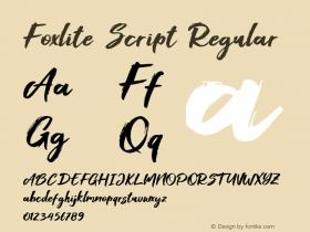 Foxlite Script
