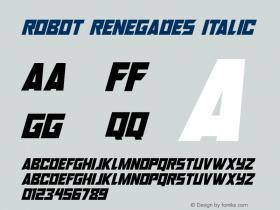 Robot Renegades