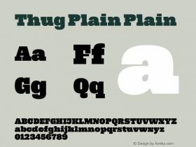 Thug Plain