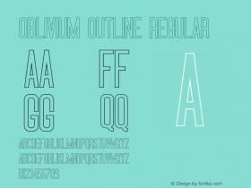 Oblivium Outline