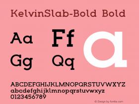 KelvinSlab-Bold