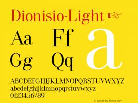 Dionisio-Light