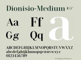 Dionisio-Medium