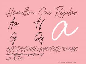 Hamillton One