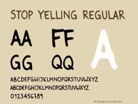 Stop Yelling