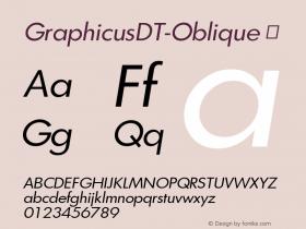 GraphicusDT-Oblique