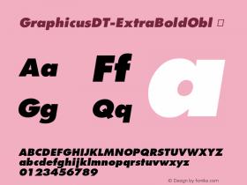 GraphicusDT-ExtraBoldObl