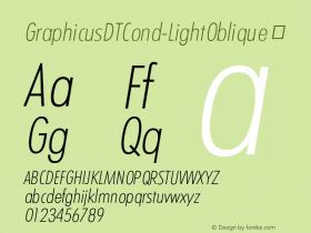 GraphicusDTCond-LightOblique