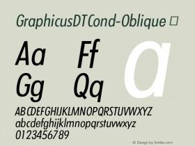 GraphicusDTCond-Oblique
