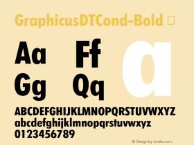 GraphicusDTCond-Bold