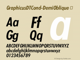 GraphicusDTCond-DemiOblique