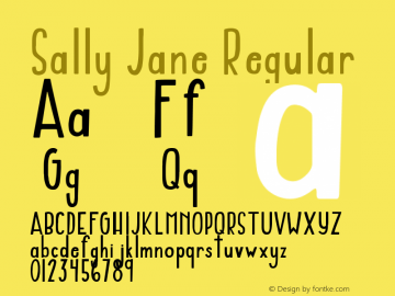 Sally Jane