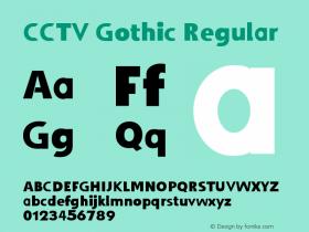 CCTV Gothic