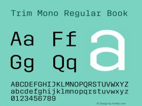 Trim Mono Regular