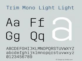 Trim Mono Light