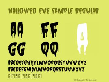Hallowed Eve Sample