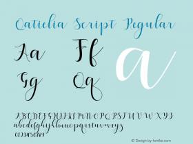 Qatielia Script