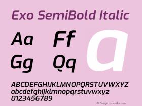 Exo SemiBold