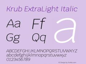 Krub ExtraLight