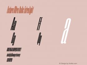 Fixture Ultra Italic