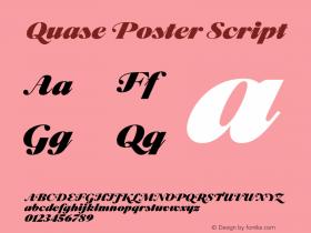 Quase Poster