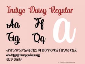 Indigo Daisy