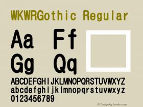 WKWRGothic