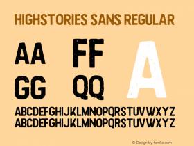 Highstories Sans