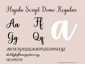 Hiyida Script Demo