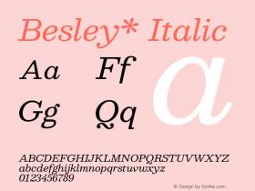 Besley*
