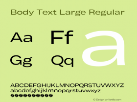 Body Text Large