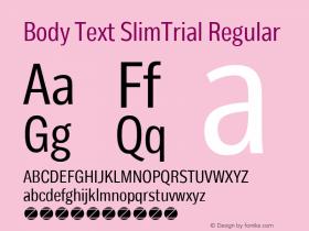 Body Text SlimTrial