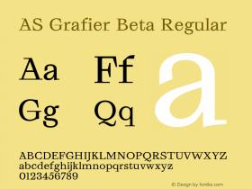 AS Grafier Beta