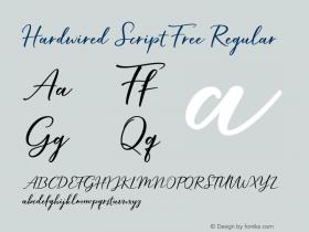 Hardwired Script Free