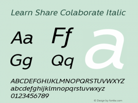 Learn Share Colaborate