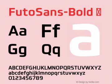 FutoSans-Bold